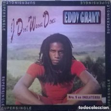 Discos de vinilo: EDDY GRANT - I DON'T WANNA DANCE - MAXI SPAIN 1983. Lote 108781975