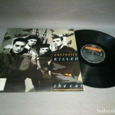 Disques de vinyle: 918- CURIOSITY KILLED THE CAT -KEEP YOUR DISTANCE DISCO VINILO LP - PORT VG + / DISCO VG +. Lote 108798199