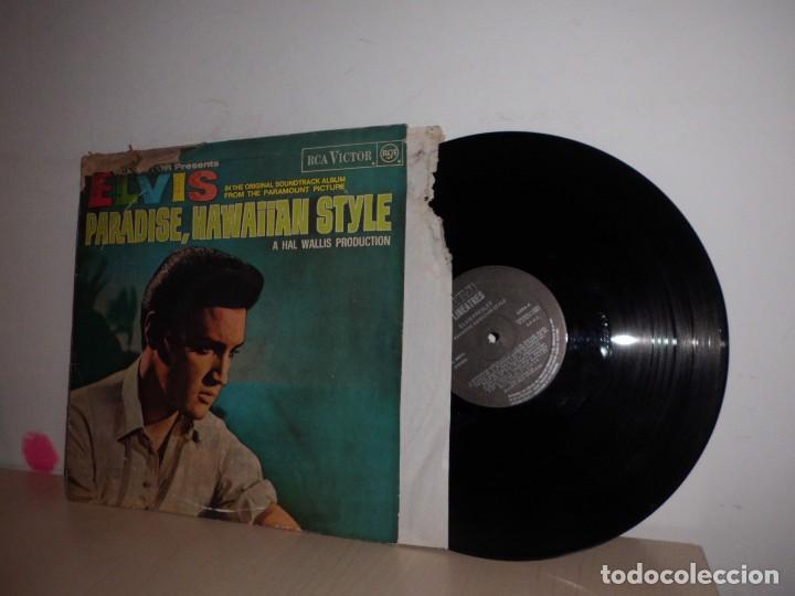 ELVIS PRESLEY-PARADISE,HAWAIIAN STYLE- RCA VICTOR MADRID- RCA- 1972- 1987 (Música - Discos - LP Vinilo - Pop - Rock - Extranjero de los 70)