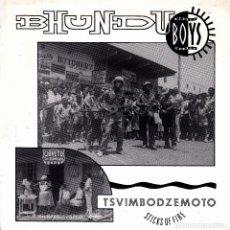 Discos de vinilo: BHUNDU BOYS - KAPEDZA MUTO + VAKAPAREI SINGLE SPAIN PROMO 1988. Lote 108801767