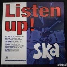 Discos de vinilo: LISTEN UP! SKA-RECOPILACIÓN. Lote 108817667