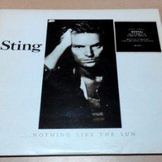 Discos de vinilo: STING ··· NOTHING LIKE THE SUN - (LP DOBLE 33 RPM). Lote 108824726