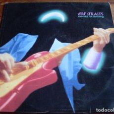 Discos de vinilo: DIRE STRAITS - MONEY FOT NOTHING - LP VERTIGO AÑO 1988 - ENCARTE Y LETRAS - RECOPILATORIO DEL GRUPO. Lote 108826363