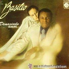 Discos de vinilo: BASILIO, DEMASIADO AMOR - LP SPAIN 1977 . Lote 108832579