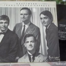 Discos de vinilo: KRAFTWERK – TRANS EUROPA EXPRESS (1977) PRIMERA EDICIÓN ALEMANA EN EL SELLO KLING KLANG. Lote 108836571