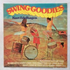 Discos de vinilo: KURT EDELHAGEN UND SEIN ORCHESTER – SWINGING GOODIES. Lote 108840651