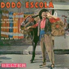 Discos de vinilo: DODÓ ESCOLÁ , EP, EL HOMBRE DE LOS BOTIJOS + 3, AÑO 1959. Lote 108855079