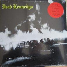 Discos de vinilo: DEAD KENNEDYS: FRESH FRUIT FOR ROTTING VEGETABLES. REMASTERIZADO. INCLUYE POSTER. Lote 108856819