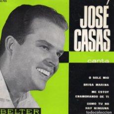 Discos de vinilo: JOSE CASAS, EP, O SOLE MIO + 3, AÑO 1963. Lote 108858103