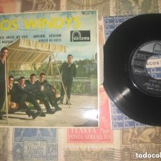 Discos de vinilo: LOS WINDYS, EP, AMOR, MON AMOUR, MY LOVE(FONTANA1963)OG ESPAÑA EXCELENTE CONDICION. Lote 108862471