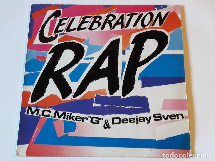 M.C.MIKER G & DEEJAY SVEN - CELEBRATION RAP - 1986 (Música - Discos de Vinilo - Maxi Singles - Rap / Hip Hop)