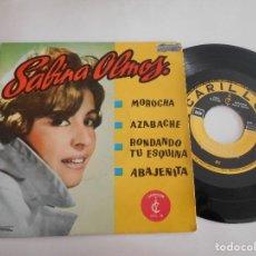 Discos de vinilo: SABINA OLMOS-EP MOROCHA +3. Lote 108866895