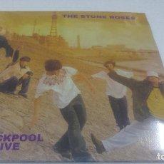 Discos de vinilo: STONE ROSES BLACKPOOL LIVE. Lote 175724315