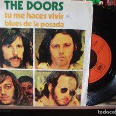 Discos de vinilo: THE DOORS TU ME HACES VIVIR SINGLE SPAIN 1970 PDELUXE. Lote 108867639