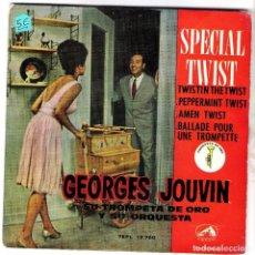 Discos de vinilo: SPECIAL TWIST GEORGES JOUVIN Y SU ORQUESTA. Lote 108868035