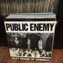 Discos de vinilo: PUBLIC ENEMY. HAZY SHADE OF CRIMINAL. Lote 158300726
