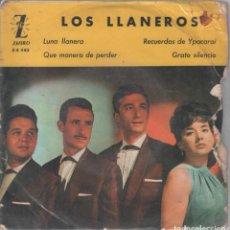 Discos de vinilo: LOS LLANEROS - LUNA LLANERA / RECUERDOS DE YPACARAI ...EP ZAFIRO DE 3358. Lote 108872827