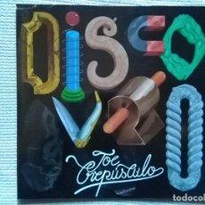 Discos de vinilo: JOE CREPÚSCULO - '' DISCO DURO '' LP AZUL SPAIN 2017 SEALED. Lote 108876375