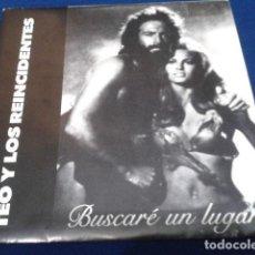Discos de vinilo: TEO Y LOS REINCIDENTES ( BUSCARE UN LUGAR ) 1989 URANTIA RECORDS SINGLE PROMO DEL LP LUJURIA JUVENIL. Lote 108879923