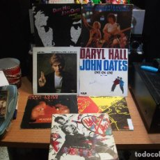 Discos de vinilo: HALL & OATES (7) PRIVATE EYES + 6 SINGLE SPAIN 1981 PDELUXE. Lote 108880199