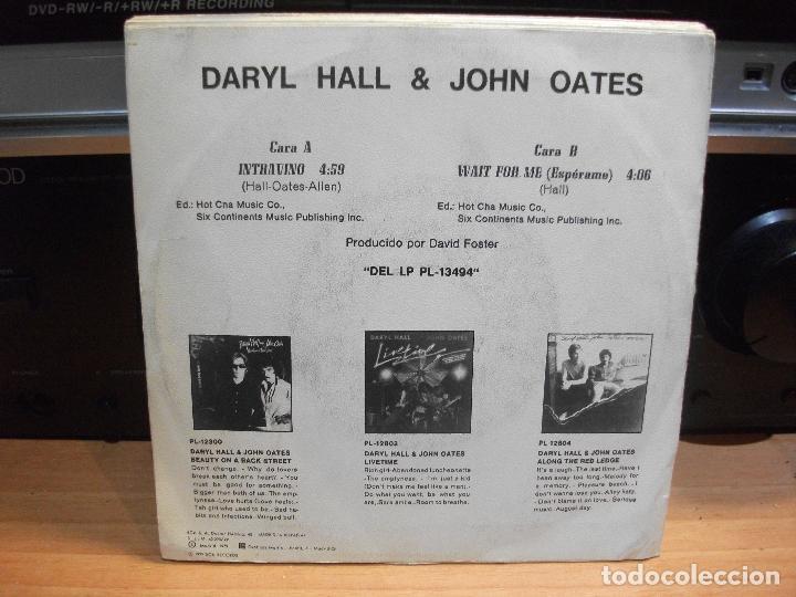 Discos de vinilo: HALL & OATES (7) PRIVATE EYES + 6 SINGLE SPAIN 1981 PDELUXE - Foto 2 - 108880199