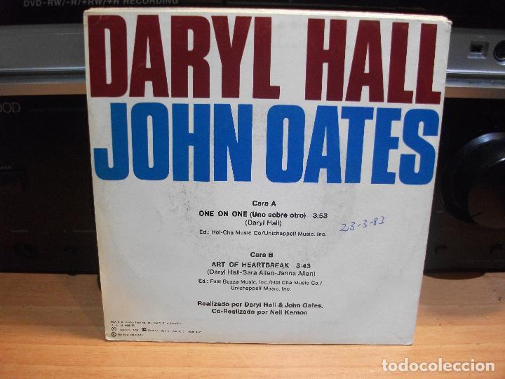 Discos de vinilo: HALL & OATES (7) PRIVATE EYES + 6 SINGLE SPAIN 1981 PDELUXE - Foto 3 - 108880199