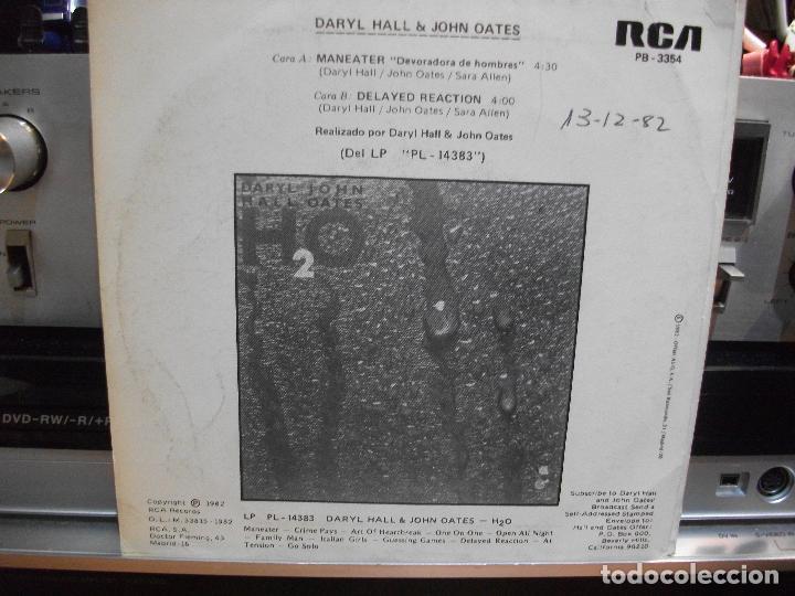 Discos de vinilo: HALL & OATES (7) PRIVATE EYES + 6 SINGLE SPAIN 1981 PDELUXE - Foto 7 - 108880199