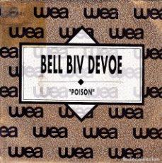 Discos de vinilo: BELL BIV DEVOE - POISON SINGLE PROMO SPAIN 1990. Lote 108884755