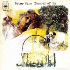 Discos de vinilo: PETER NERO - SUMMER OF 42 + JESUCRISTO SUPERSTAR SINGLE SPAIN 1971. Lote 108885879