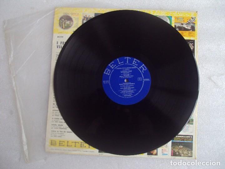 Discos de vinilo: I FESTIVAL DE VILLANCICOS NUEVOS, LP EDICION 1967 BELTER. LOS STOP, NINO SANCHEZ, ALICIA GRANADOS... - Foto 4 - 108886335
