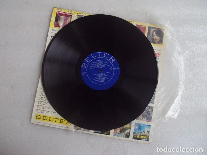 Discos de vinilo: TODAS LAS CANCIONES DE SAN REMO EN ESPAÑOL VOL.2. LP EDICION ESPAÑOLA 1967, BELTER. - Foto 4 - 108887623