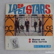 Discos de vinilo: LOS TELSTARS, IV FESTIVAL INTERNACIONAL DE LA CANCION DE MALLORCA, SINGLE EDICION ESPAÑOLA 1967. Lote 108889071