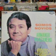 Discos de vinilo: ARMANDO MANZANERO - SOMOS NOVIOS - LP. DEL SELLO 1968. Lote 256018245