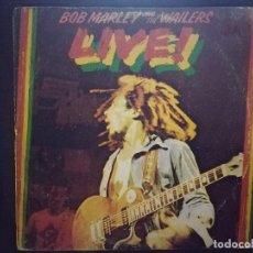 Discos de vinilo: BOB MARLEY & THE WAILERS-LIVE!. Lote 108914827