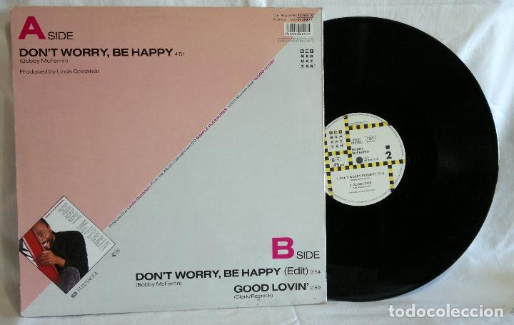 Discos de vinilo: Bobby McFerrin ?– Dont Worry, Be Happy - Foto 4 - 108925623
