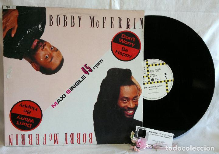 Discos de vinilo: Bobby McFerrin ?– Dont Worry, Be Happy - Foto 6 - 108925623