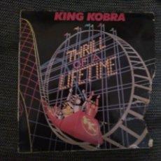 Discos de vinilo: KING KOBRA-THRILL OF A TIME. Lote 108930211