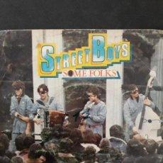 Discos de vinilo: STREET BOYS..SOME FOLKS, SEBASTIAN M. WALTON. Lote 108932383