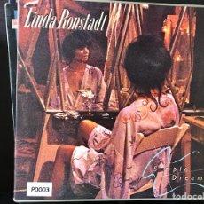 Discos de vinilo: SIMPLE DREAMS. LINDA RONSTADT. Lote 108936287