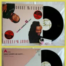 Discos de vinilo: BOBBY MCFERRIN ?– DON'T WORRY, BE HAPPY. Lote 108925623