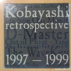Discos de vinilo: VARIOS - KOBAYASHI RETROSPECTIVE 1997 1999 - 2 LP. Lote 108994971