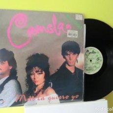 Discos de vinilo: CAMELA ,( MAS LA QUIERO YO )1994 , MUY DIFICIL, MAXI SINGLE, LOTE 348. Lote 109007923