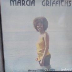 Discos de vinilo: MARCIA GRIFFITHS - SWEET BITTER LOVE. Lote 109011087