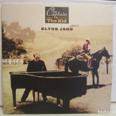 Discos de vinilo: ELTON JOHN - THE CAPTAIN & THE KID - GATEFOLD - 2 LIBROS - COMPLETO - 2006 - NM+/NM+. Lote 109013483