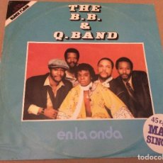 Discos de vinilo: THE B.B. &Y Q. BAND. EN LA ONDA. CAPITOL RECORDS 1981.. Lote 109014871