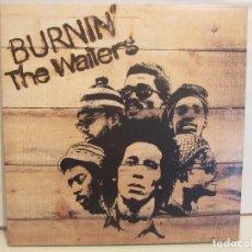 Discos de vinilo: THE WAILERS - BURNIN - GATEFOLD - REMASTERED 180 GRAM - 2008 - EX+/NM+. Lote 109016455