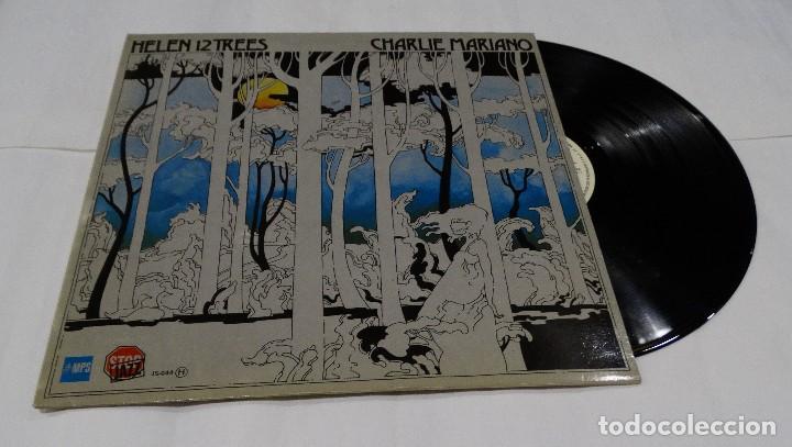 CHARLIE MARIANO - HELEN 12 TREES -LP 1976. FIRMADO POR EL AUTOR. (Música - Discos de Vinilo - EPs - Jazz, Jazz-Rock, Blues y R&B)