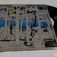 Discos de vinilo: CHARLIE MARIANO - HELEN 12 TREES -LP 1976. FIRMADO POR EL AUTOR.. Lote 109026203