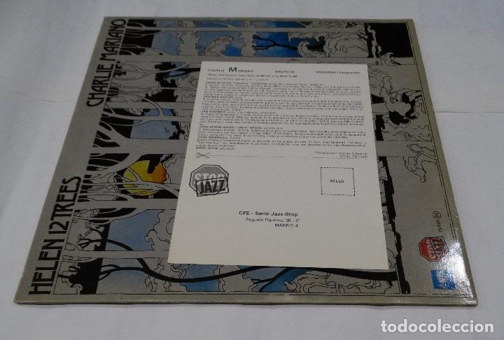 Discos de vinilo: CHARLIE MARIANO - HELEN 12 TREES -LP 1976. Firmado por el autor. - Foto 2 - 109026203