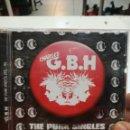Discos de vinilo: G.B.H THE PUNK SINGLES 1981/84 CD COMO NUEVO. Lote 109036239